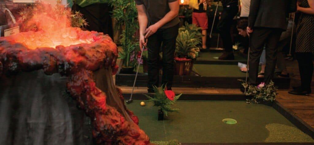 Plonk Crazy Golf Course